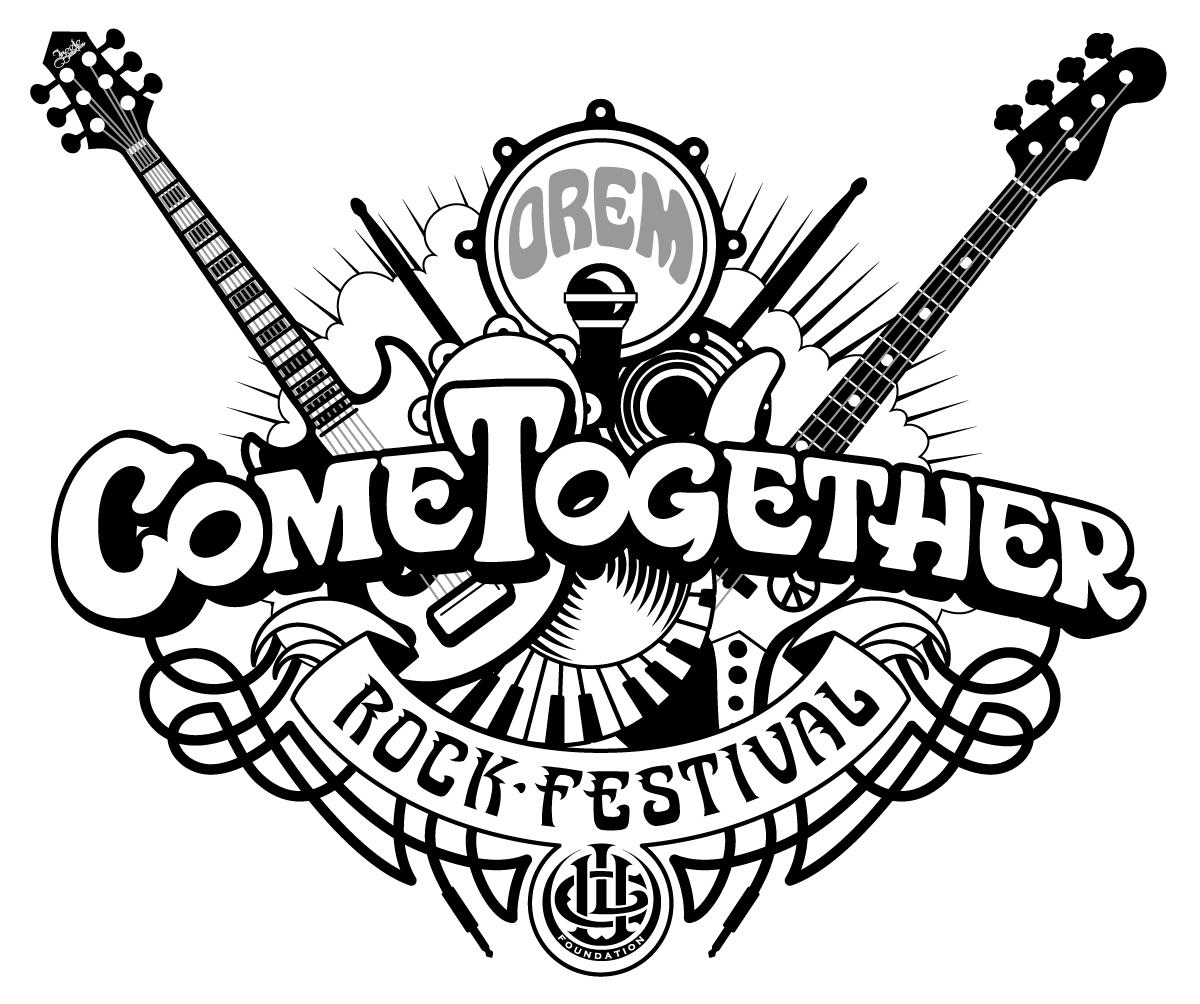 Come Together Orem Rock Festival Logo