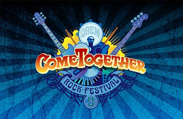 Orem Come Together Rock Festival logo