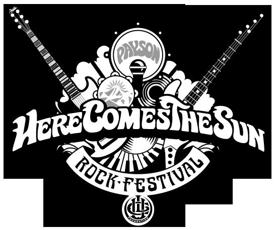 Here Comes The Sun Payson Rock Festival Logo