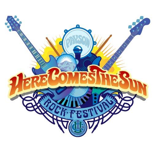 Here Comes The Sun Rock Festival Logo