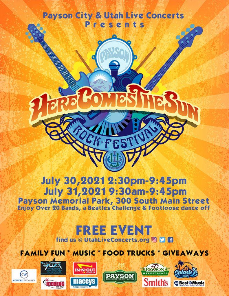 2021 Payson Here Comes The Sun Rock Festival