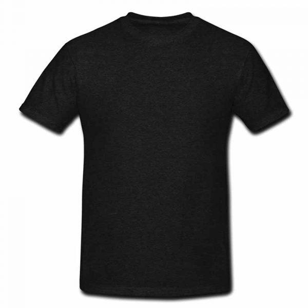 Black Here Comes The Sun Rock-Festival T-Shirt Back