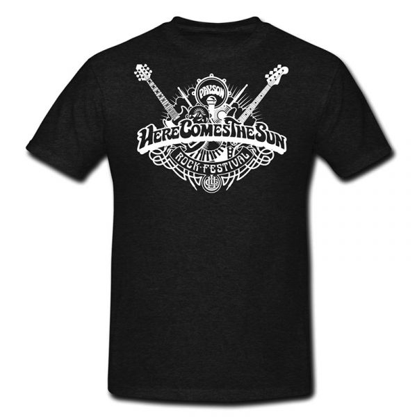 2021 Payson Here Comes The Sun Rock Festival T-Shirt Front