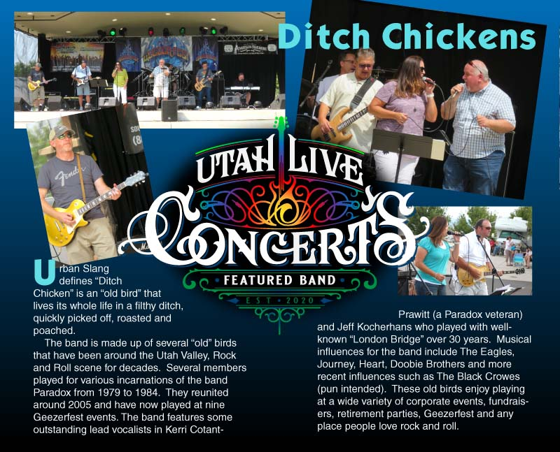 Ditch Chickens Band Bio