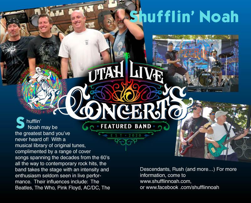 Shufflin' Noah Band Bio