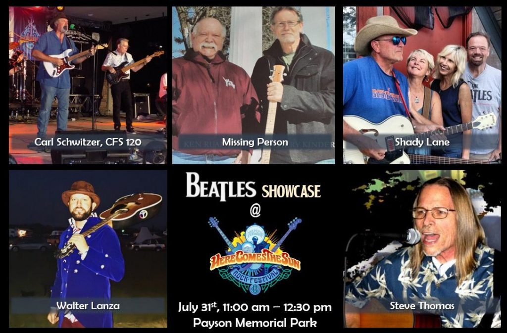 Payson Beatles Showcase performers